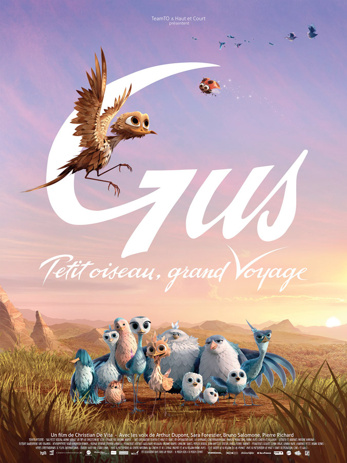 Gus, petit oiseau, grand voyage (Christian De Vita, 2014)