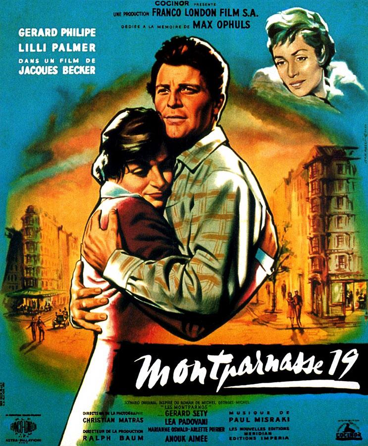Montparnasse 19 (Jacques Becker, 1958)