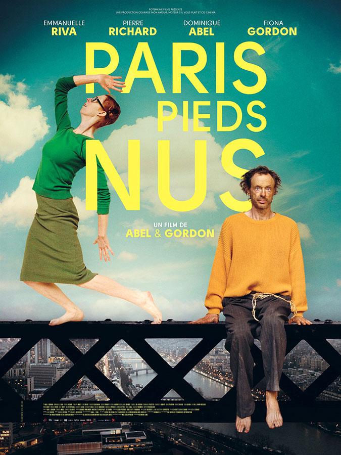 Paris pieds nus (Abel & Gordon, 2017)