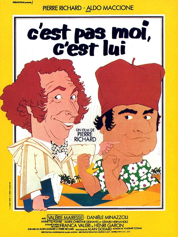 C'est pas moi, c'est lui (Pierre Richard, 1980)
