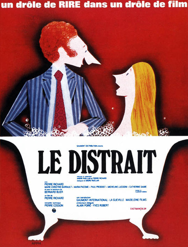 Le Distrait (Pierre Richard, 1970)
