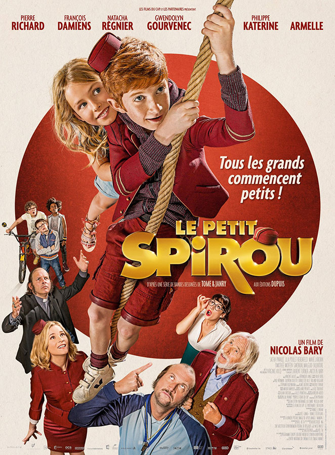 Le Petit Spirou (Nicolas Bary, 2017)