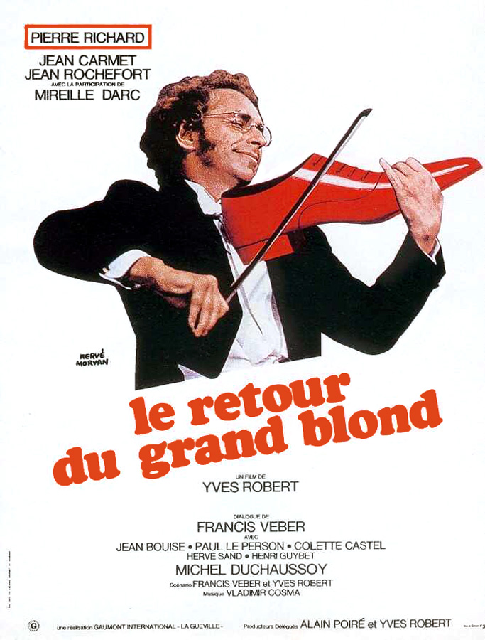 Le Retour du Grand Blond (Yves Robert, 1974)