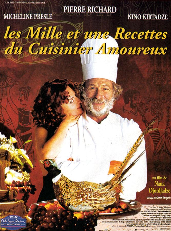 Les Mille et une recettes du cuisinier amoureux (Nana Djordjadze, 1996)