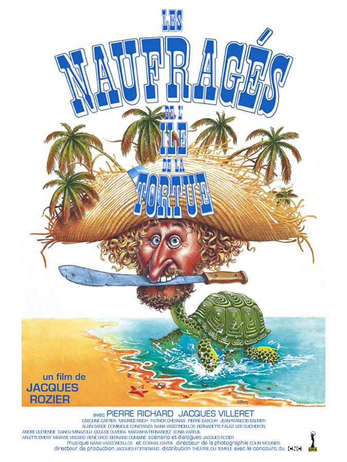 Les Naufragés de l'île de la Tortue (Jacques Rozier, 1976)