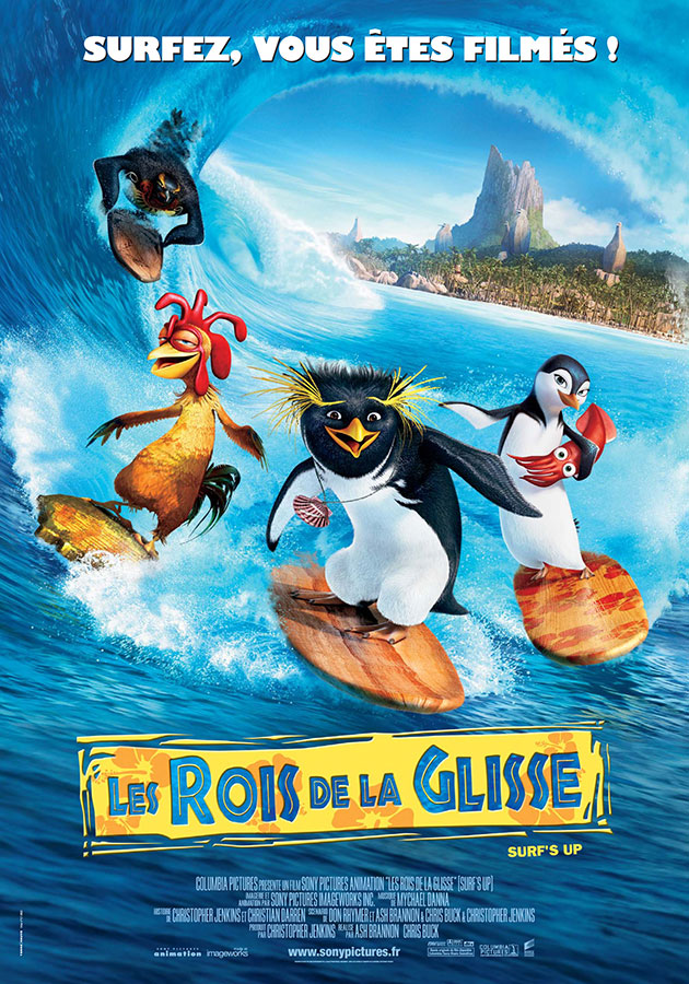 Les Rois de la glisse (Surf's Up) de Ash Brannon et Chris Buck (2007)