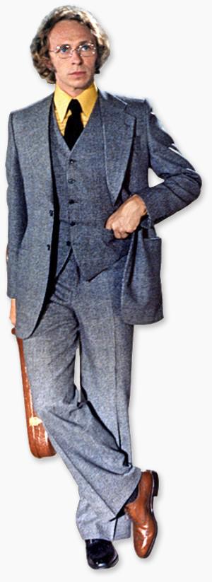 Pierre Richard dans Le Grand Blond avec une chaussure noire (Yves Robert, 1972)