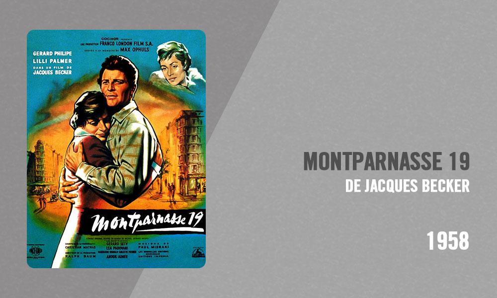 Filmographie Pierre Richard - Montparnasse 19 (Jacques Becker, 1958)