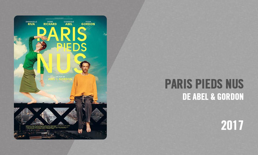 Filmographie Pierre Richard - Paris pieds nus (Abel & Gordon, 2017)