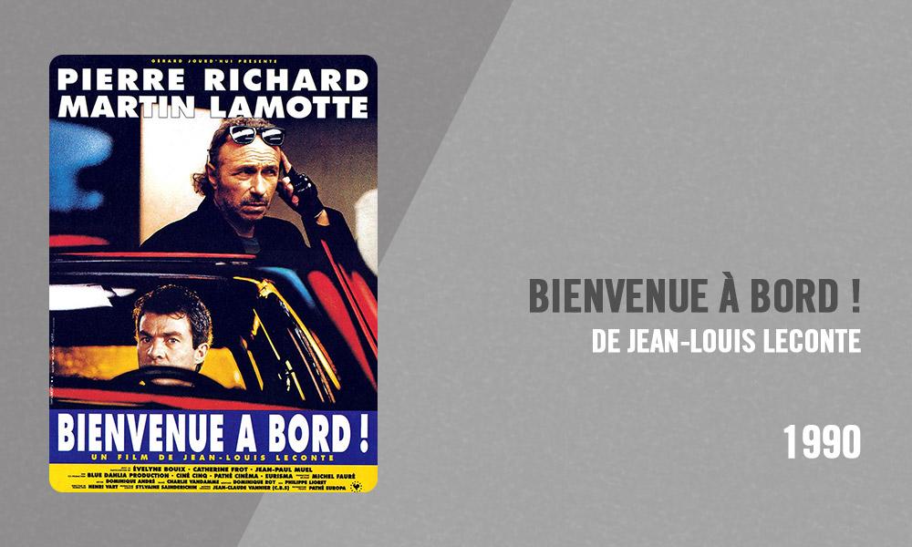 Filmographie Pierre Richard - Bienvenue à bord (Jean-Louis Leconte, 1990)