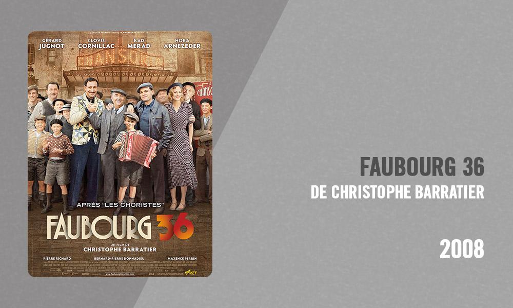 Filmographie Pierre Richard - Faubourg 36 (Christophe Barratier, 2008)