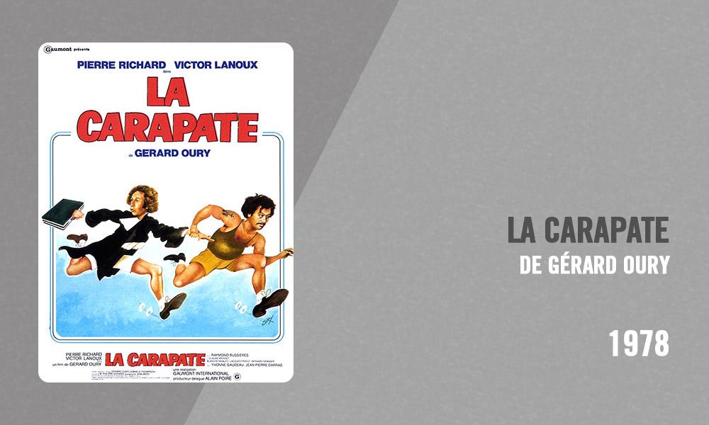 Filmographie Pierre Richard - La Carapate (Gérard Oury, 1978)