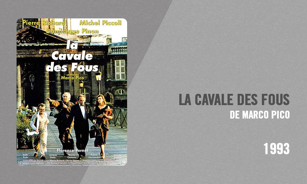 Filmographie Pierre Richard - La Cavale des fous (Marco Pico, 1993)