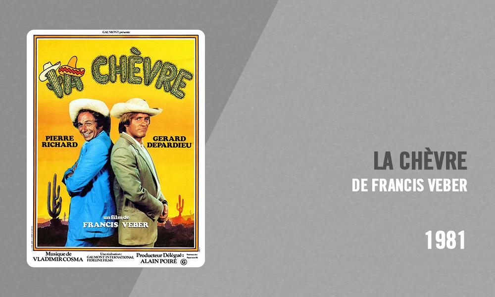 Filmographie Pierre Richard - La Chèvre (Francis Veber, 1981)