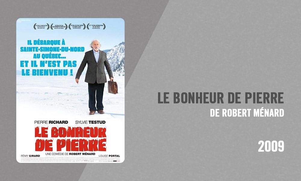 Filmographie Pierre Richard - Le Bonheur de Pierre (Robert Ménard, 2009)
