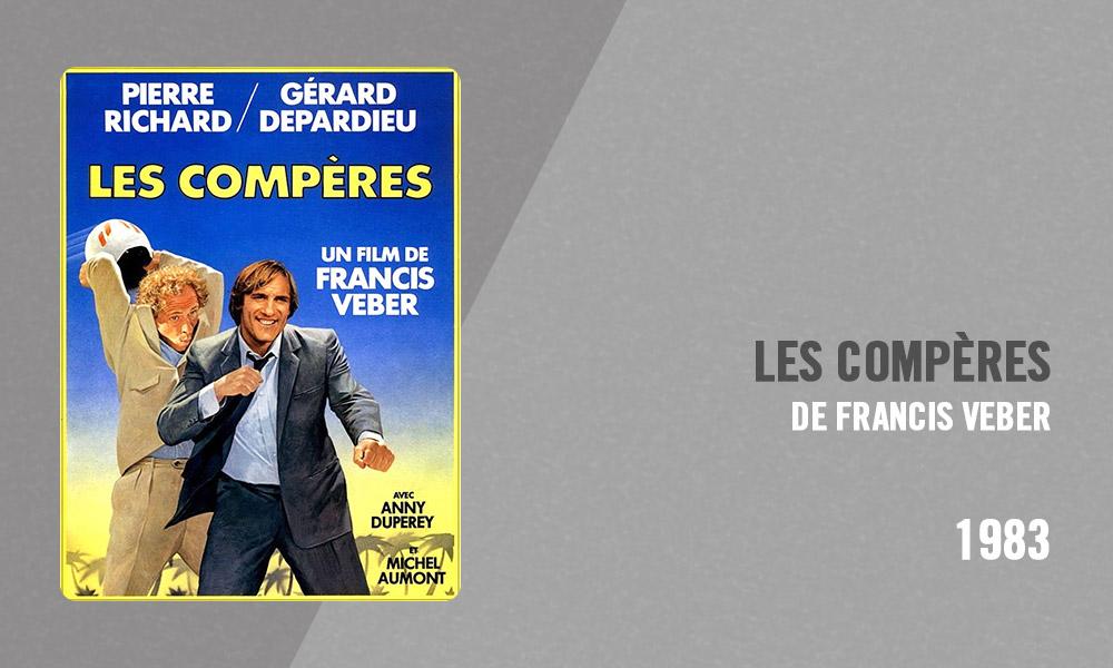 Filmographie Pierre Richard - Les Compères (Francis Veber, 1983)