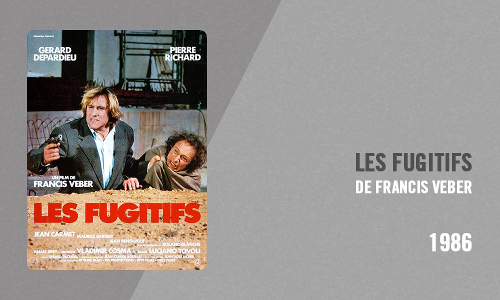 Filmographie Pierre Richard - Les Fugitifs (Francis Veber, 1986)