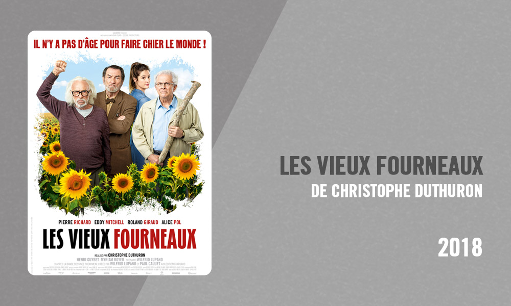 Filmographie Pierre Richard - Les Vieux fourneaux (Christophe Duthuron, 2018)