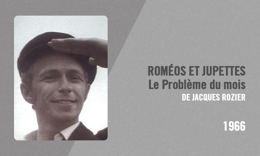 Filmographie Pierre Richard - Roméos et jupettes, Le Problème du mois (Jacques Rozier, 1966)
