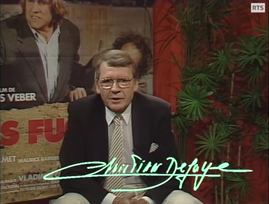 Christian Defaye - Émission Spécial Cinéma du 22 décembre 1986