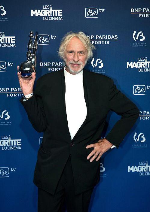 Pierre Richard et son Magritte d'honneur le 7 février 2015