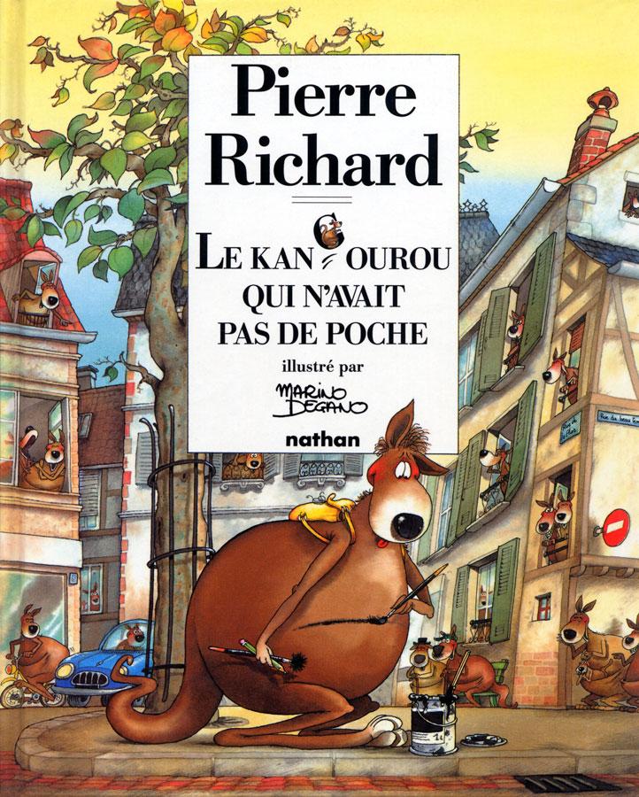 Le Kangourou qui n'avait pas de poche de Pierre Richard (Nathan) - Recto