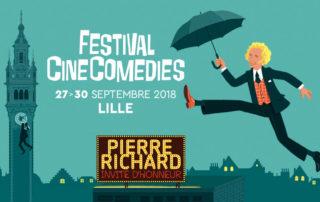 Pierre Richard invité d'honneur du 1er Festival CineComedies