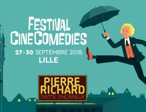 Pierre Richard invité d'honneur du Festival CineComedies