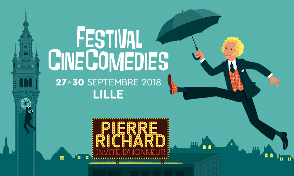 Pierre Richard invité d'honneur du 1er Festival CineComedies