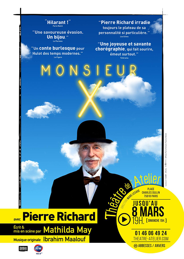 Monsieur X de Mathilda May avec Pierre Richard