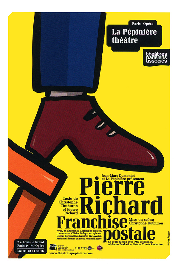 Franchise postale de Pierre Richard et Christophe Duthuron (2010)